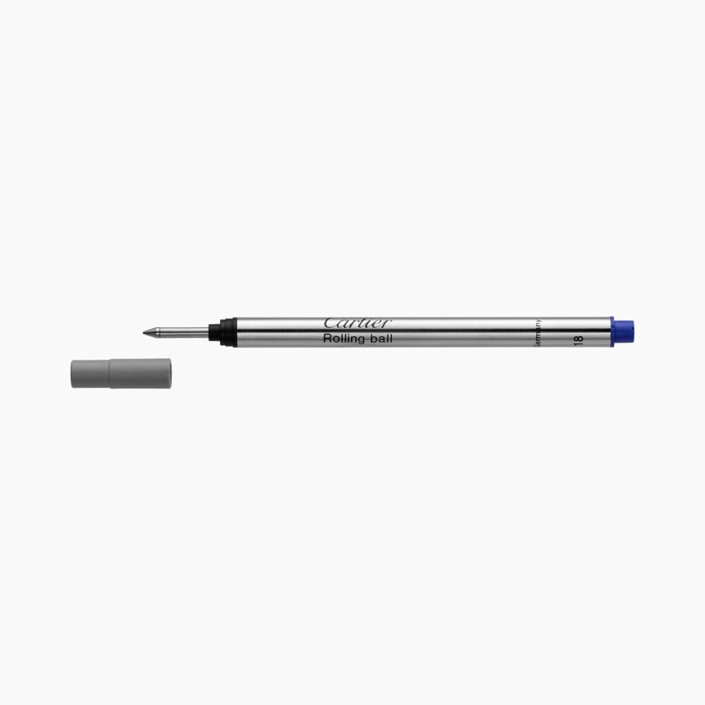 Запасной стержень для ручки-роллера, чернила синего цвета