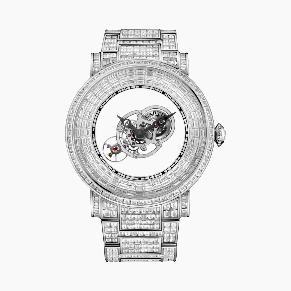 Часы Rotonde Astromystérieux Baguettes