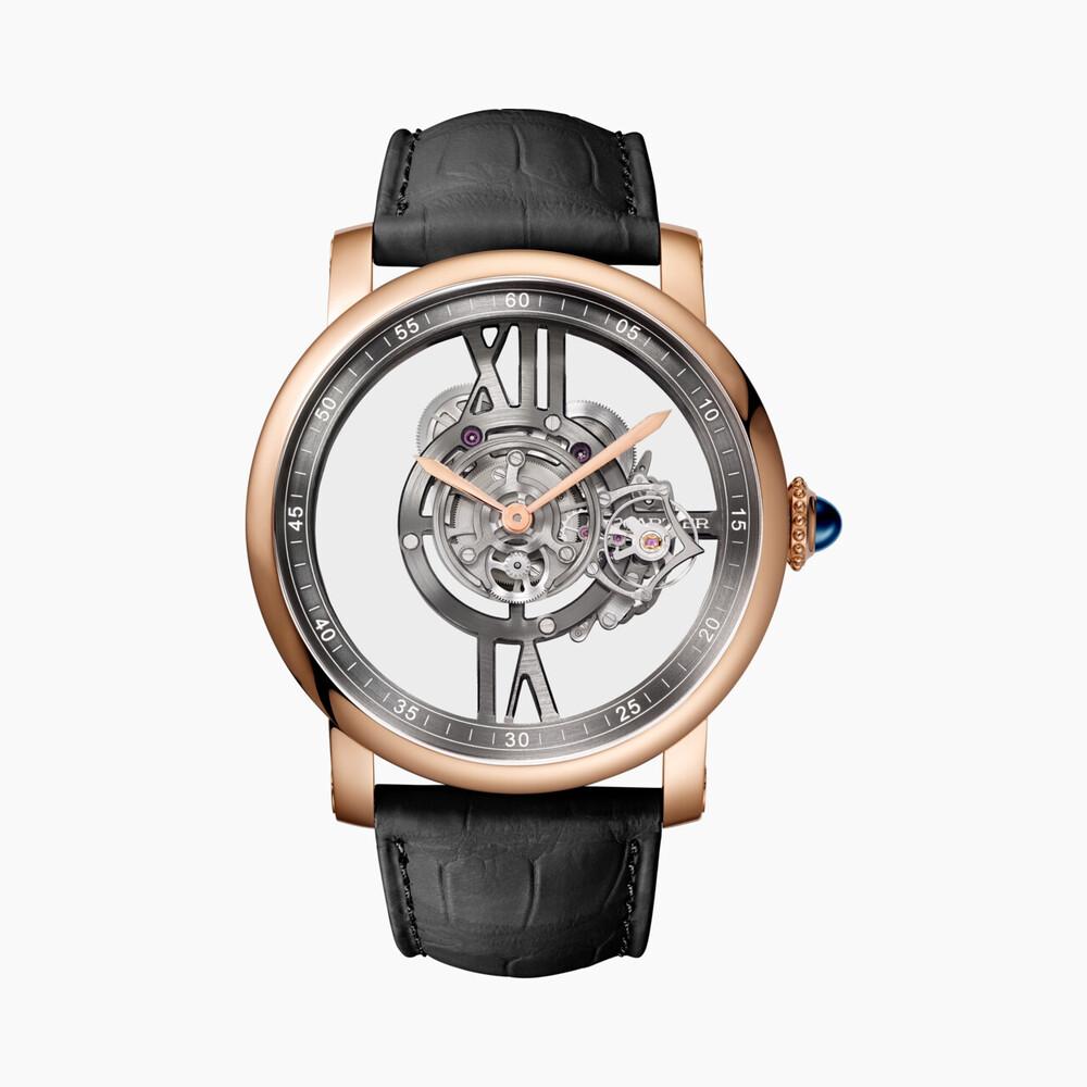 Часы Rotonde de Cartier Astrotourbillon