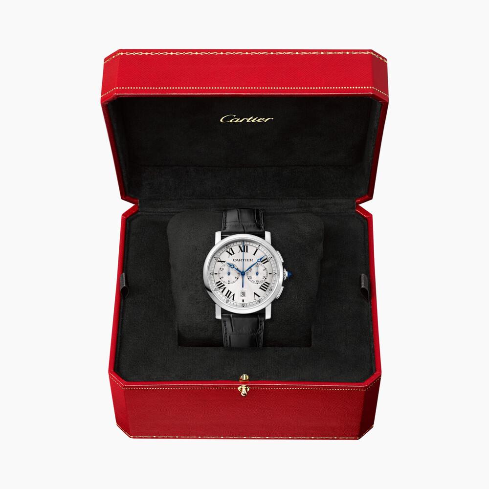 Часы Rotonde de Cartier, хронограф