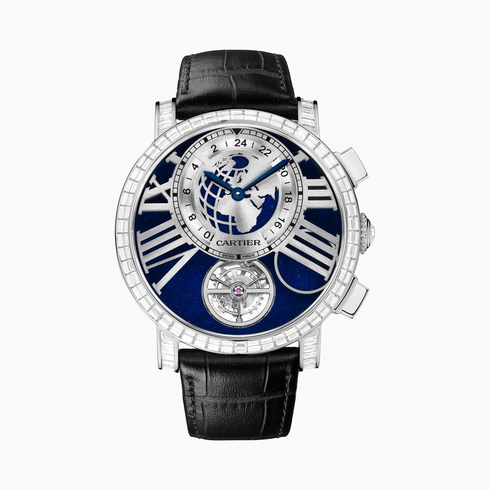 Часы Rotonde de Cartier Terre Lune