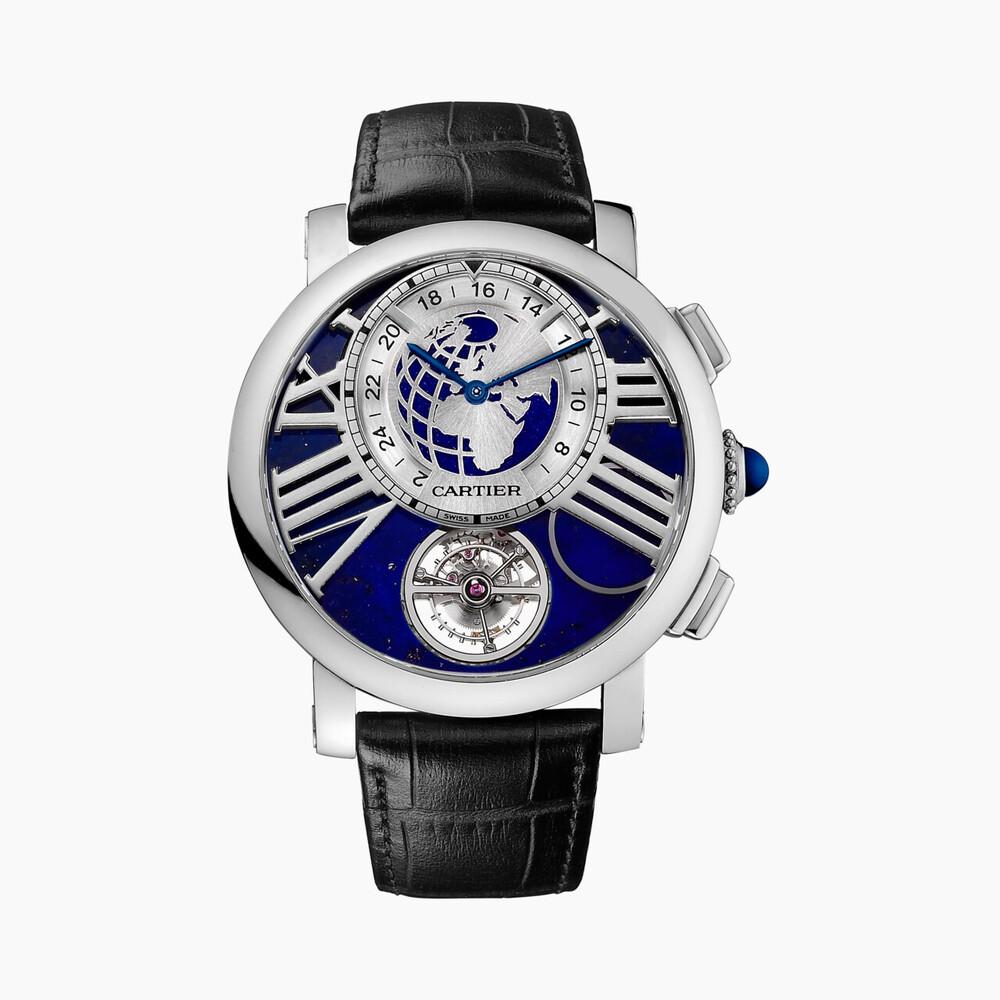 Часы Rotonde de Cartier Terre et Lune