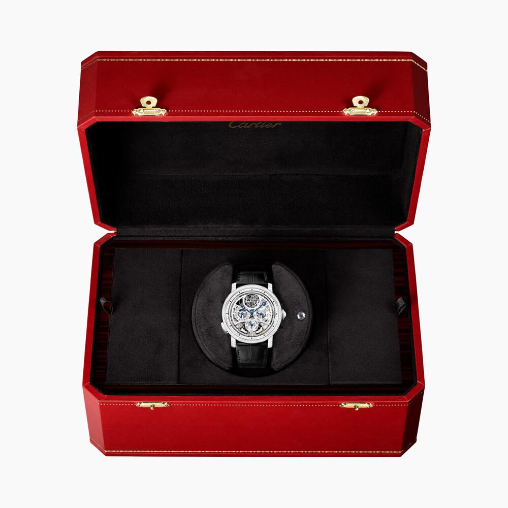 Часы Rotonde de Cartier Grande Complication, скелетон