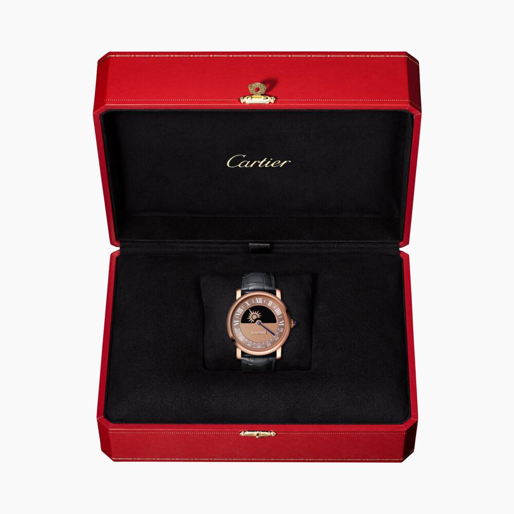Часы Rotonde de Cartier, «загадочный» механизм