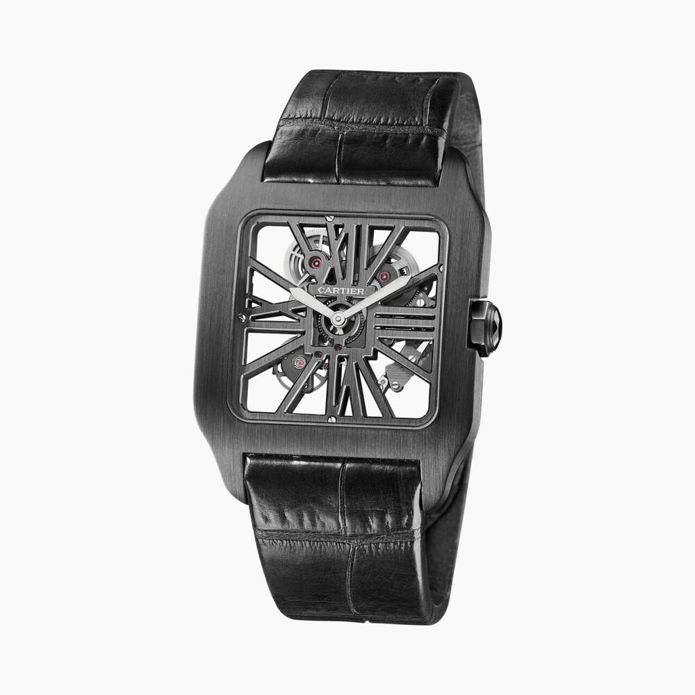 Часы Santos-Dumont, скелетон