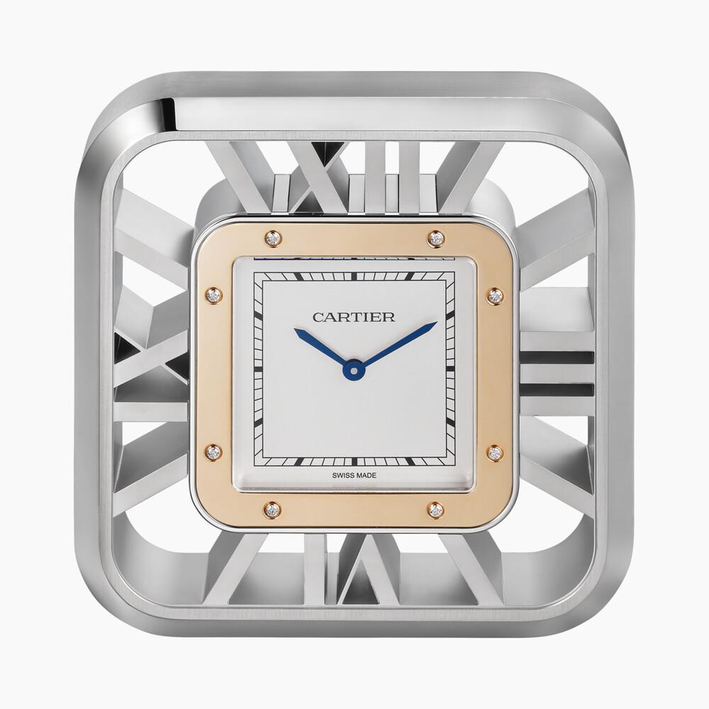 Настольные часы Santos 100 категории Exceptional, скелетон